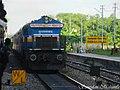 12235 Rajdhani Express with Tughlakabad based WDP4B locomotive - Flickr - Dr. Santulan Mahanta.jpg