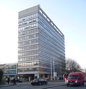 Whetstone, London - Barnet council offices dominate the centre of Whetstone.