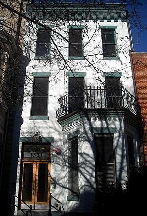 Henry V. Boynton - Boynton's former residence, located in the Logan Circle neighborhood of Washington, D.C.