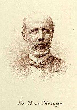 Max Büdinger