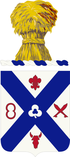 135th Infantry Regiment (United States) - Coat of arms