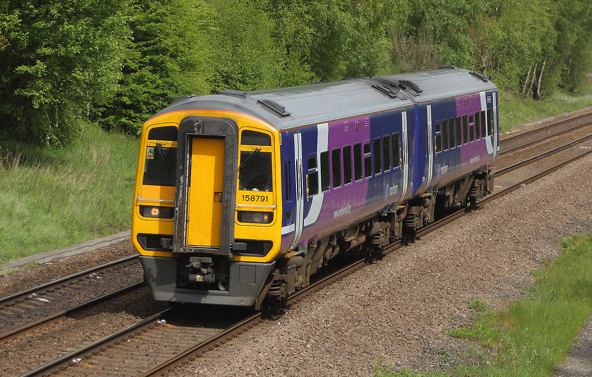 How Car Works >> British Rail Class 158 - Simple English Wikipedia, the free encyclopedia