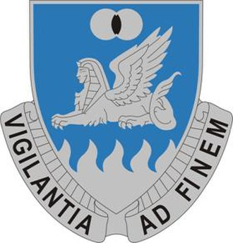 Military Intelligence Corps (United States Army) - Image: 15 MI Bn DUI