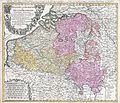 1730 Homann Heirs Map of Belgium and Luxembourg - Geographicus - BelgiumCatholicum-hmhr-1747.jpg
