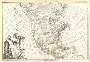 Hendrick van der Heul - 1762 Map of North America