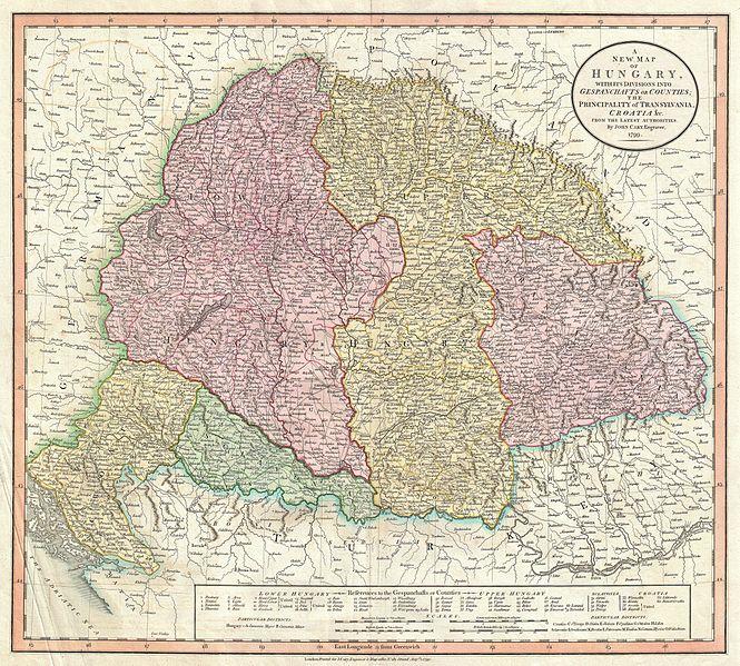 File:1799 Cary Map of Hungary, Croatia and Transylvania - Geographicus - Hungary-cary-1799.jpg