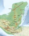 17th century Spanish routes to Petén.xcf