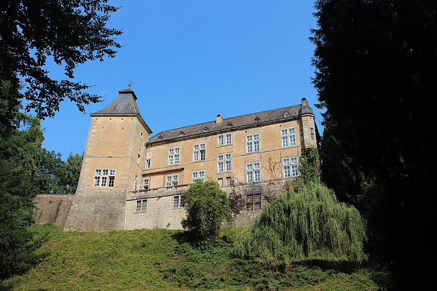 Renaissance castle in Beaufort, Luxembourg, built in the 1640ies for Governor Jean de Beck.