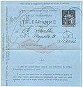 1884 telegraph form of France.jpg