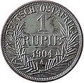 1904 Deutsch Ostafrika 1 Rupie Revers.JPG