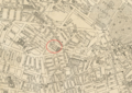 1911 CastleSqTheatre Boston map bySampsonMurdockCo BPL 12558 detail.png