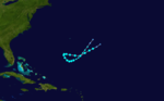 1919 Atlantic tropical storm 5 track.png