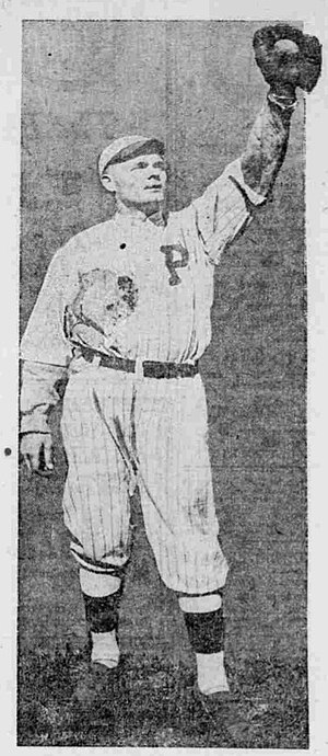 George Maisel - Maisel in 1919 as a member of the Portland Beavers.
