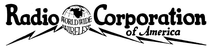 1921 Radio Corporation of America (Worldwide Wireless) logo