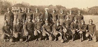 Tustin High School - Tustin Union High School - 1924 football team