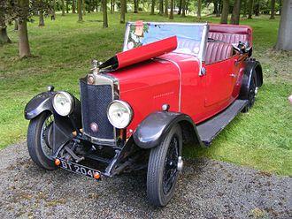 New Avon (coachbuilder) - 1929 Lea Francis O-type