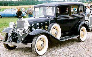 Chevrolet Series BA Confederate Car model
