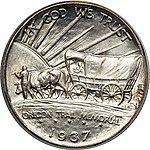 1937 Oregon Trail Memorial half dollar reverse.jpg