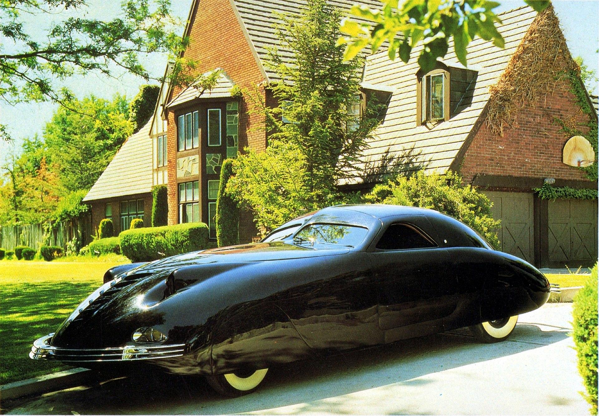 歴史の中に消えた幻の車】1938年アメリカの「ファントム コルセア ...