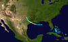 1943 Surprise hurricane track.png
