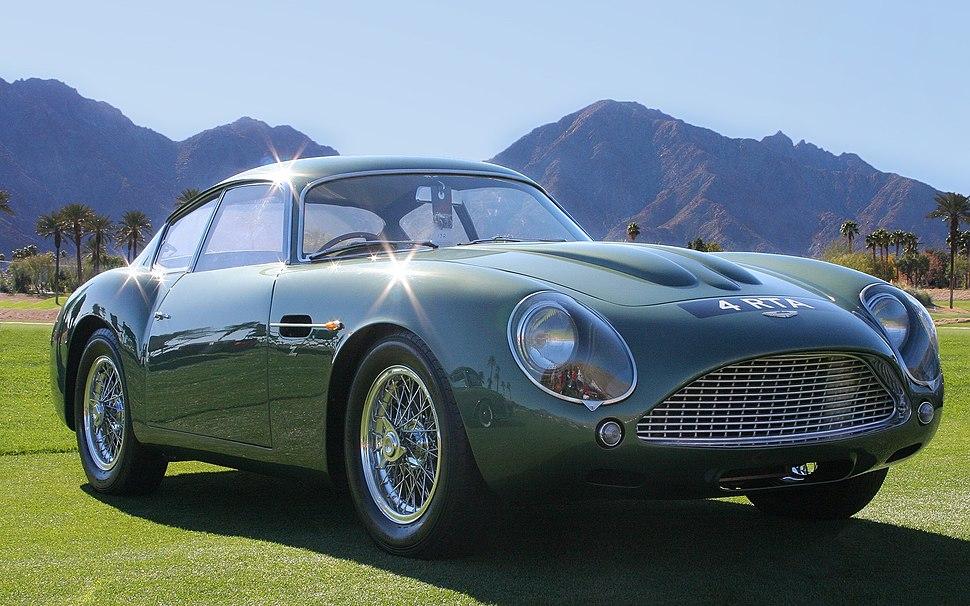 1961 Aston Martin DB4 GT Zagato - fvr3