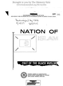 1965 FBI monograph on Nation of Islam.djvu