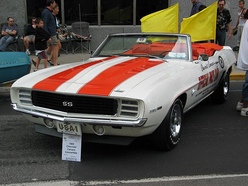Car topic 800px-1969_Chevrolet_Camaro_Pace_Car