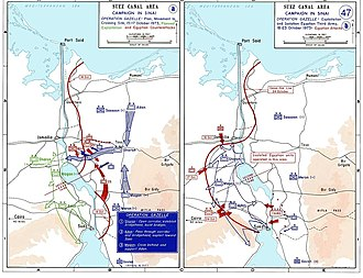 Israel Defense Forces - Operation Gazelle, Israel's ground maneuver, encircles the Egyptian Third Army, October 1973