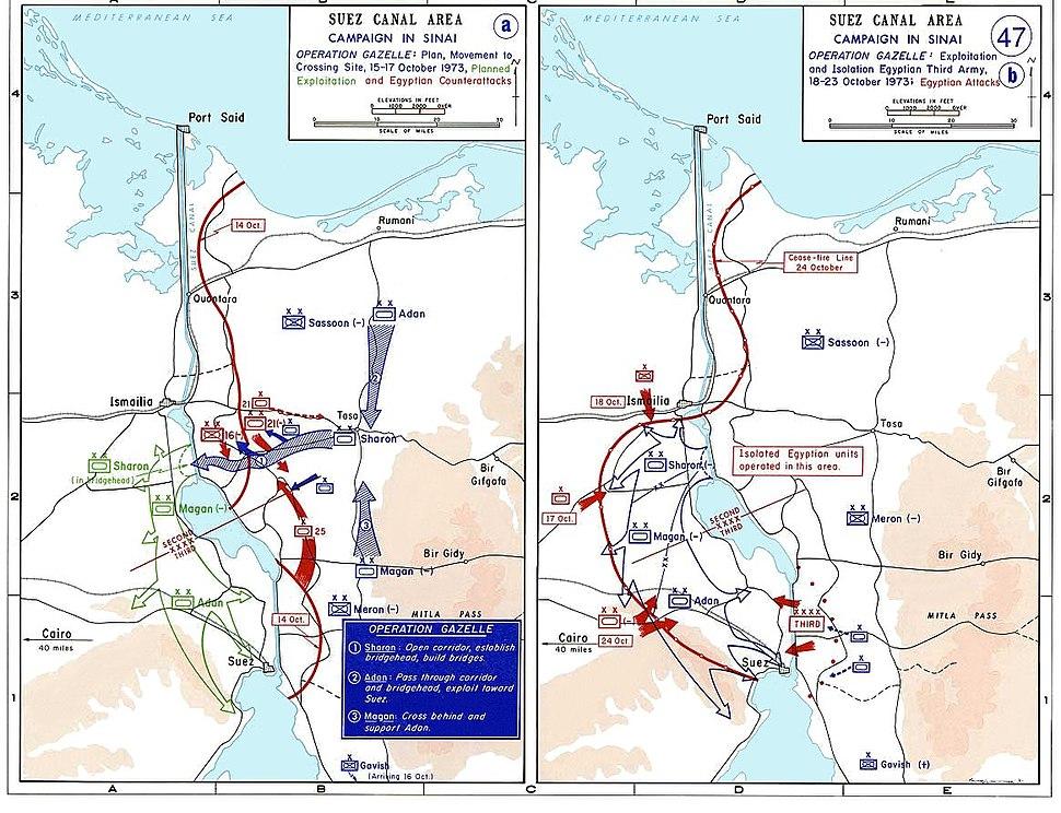 1973 sinai war maps2