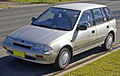 1989-1991 Holden Barina (MF) Limited Edition 5-door hatchback 01.jpg