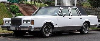 Lincoln Town Car - 1989 Lincoln Town Car