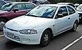1996-1998 Mitsubishi Mirage (CE) 3-door hatchback (2010-05-19).jpg
