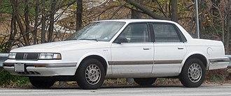 Oldsmobile Cutlass Ciera - Image: 1996 Oldsmobile Ciera