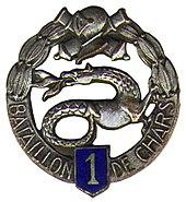1er bataillon de chars de combat