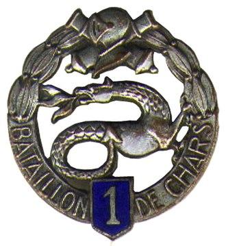 501e Régiment de chars de combat - Image: 1er bataillon de chars de combat