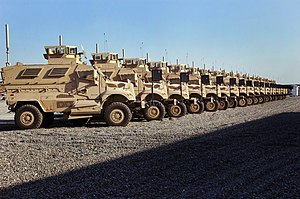 Humvee replacement process - International MaxxPro Category 1 MRAP