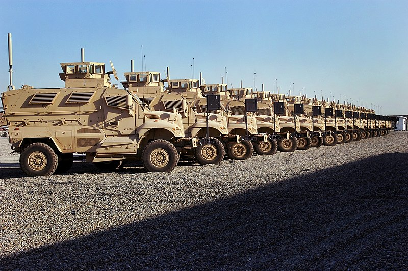 File:1st MaxxPros in Iraq.jpg