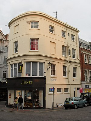 Grade II listed buildings in Brighton and Hove: E–H - Image: 20, 21 and 21a East Street, Brighton (Io E Code 480653)