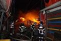 2000년대 초반 서울소방 소방공무원(소방관) 활동 사진 뒤덮는 화염.JPG