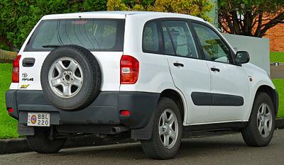 Toyota Рав 4 2000 #10