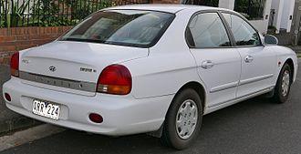 Hyundai Sonata - Pre-facelift Hyundai Sonata (EF)