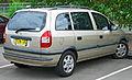 2003 Holden Zafira (TT) Equipe van (2011-11-30).jpg