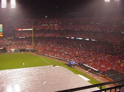 Rainout Of Game 4 October 25