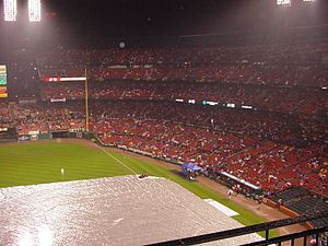 2006 World Series, Game 4. Rain-out at Busch S...