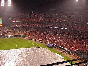 2006 World Series - Rainout of Game 4, October 25.