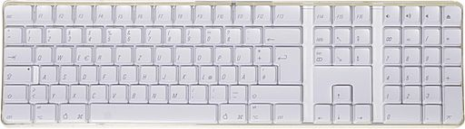 2007 09 30 de Apple-Tastatur