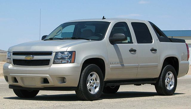 Chevy Avalanche Bed Size