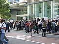 2008 02 Sydney Scientology protest - main group.jpg