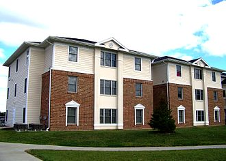 Indiana University – Purdue University Fort Wayne - Waterfield Campus Student Housing in 2008.