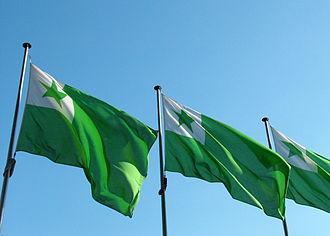 Esperanto symbols - Esperanto flags